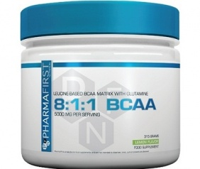PharmaFirst 8:1:1 BCAA 315 grams
