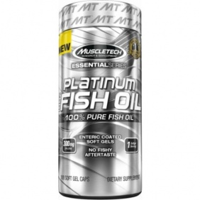 MUSCLETECH PLATINUM FISH OIL 100 capsules