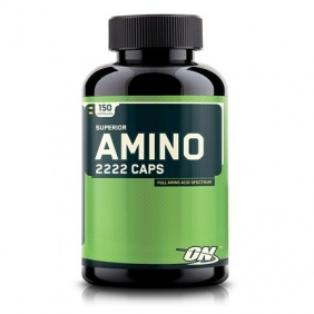 Optimum Nutrition Amino 2222 150 capsules