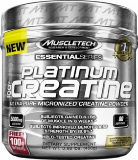 MUSCLETECH PLATINUM MICRONISED CREATINE