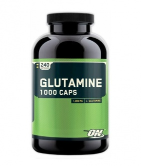 Optimum Nutrition Glutamine 1000 mg 240 capsules