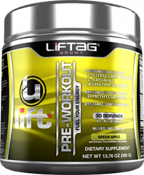 Liftag Ulift 30 servings -Green Apple