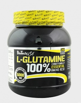Bio Tech L-GLUTAMINE 240 g.