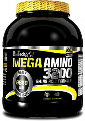 Bio Tech Mega Amino 3200 300 tablets