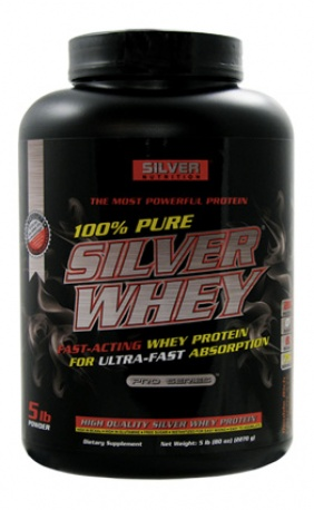 Silver Nutrition Whey 100% Pure Protein 5 lb.