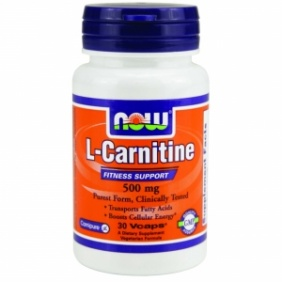 NOW L-Carnitine Fitness Support 500 30 capsules