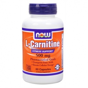 NOW L-Carnitine Fitness Support 500 60 capsules